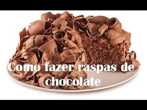 Como fazer raspas de chocolates perfeitas 2 Quer aprender um pouco mais das receitas já publicadas,  vivendo de brigadeiro Vivendo de Brigadeiro