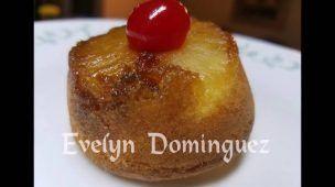 Cupcakes de Volteado de Pina