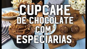 Cupcake de Chocolate com Especiarias - Menu do Chef #04