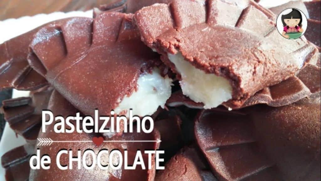 Pastelzinho de Chocolate | Dika da Naka 3 Tem vontade de saber um pouco mais das receitas que foram publicadas, saiba mais Vivendo de Brigadeiro