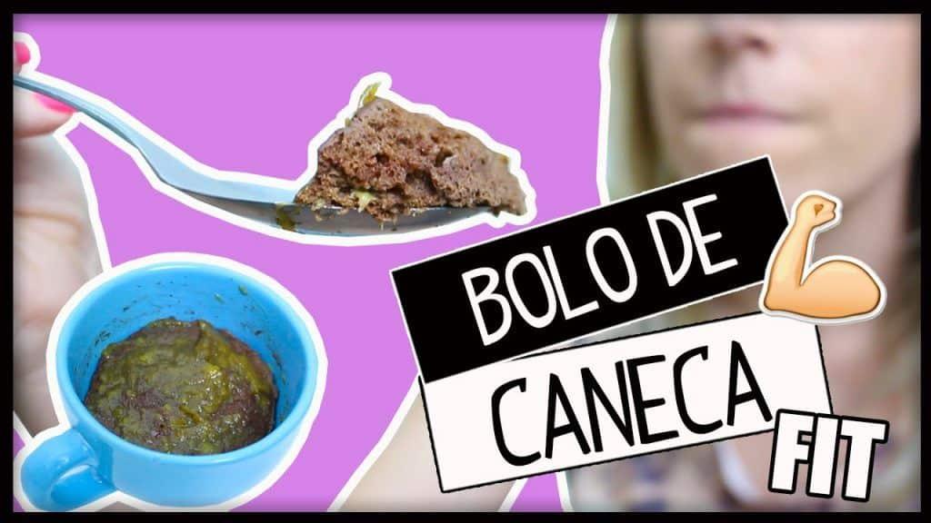 Receita FIT: BOLO DE CANECA pronto em 2 minutos #2