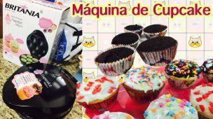 Testando a Máquina de Cupcake   Cozinha da Marinoca
