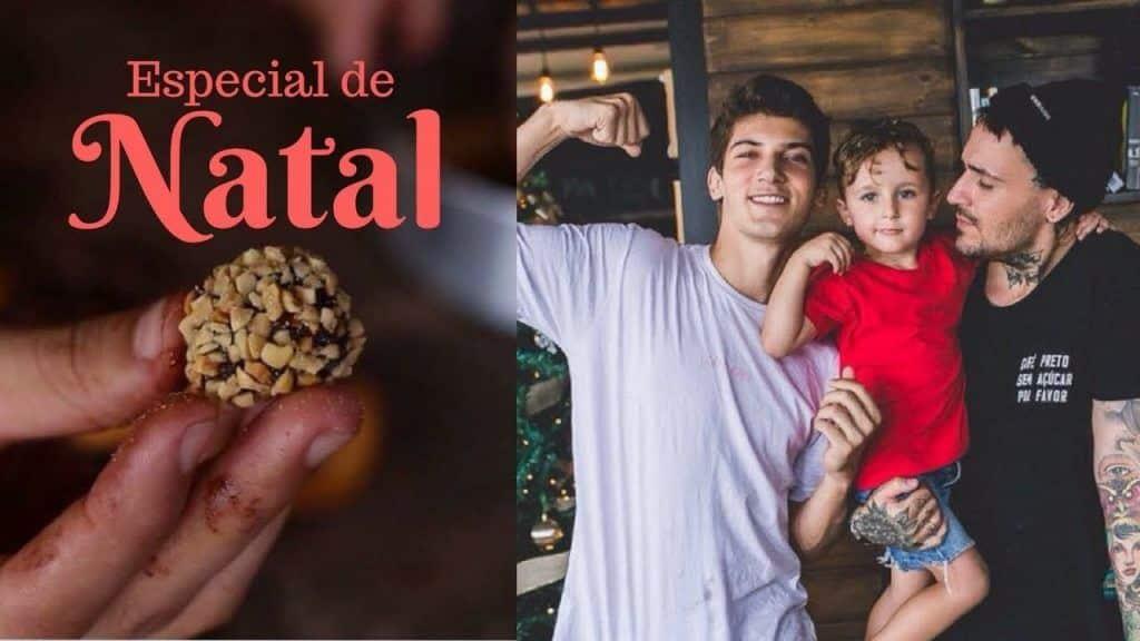 TRUFAS PARA O NATAL feat. VALENTIM 2 Gostaria de assistir + das receitas que foram publicadas, visite Vivendo de Brigadeiro