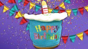 Big Birthday Cupcake Spinner from Cuddle Barn
