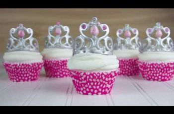 How To Make A Princess Crown Cupcake Topper – Easy Steps To Creating a Gumpaste Tiara Cupcake Topper