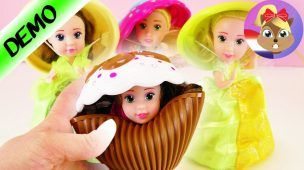 CUPCAKE SURPRISE Nederlands | Nieuwe prinses in gebakje uitpakken | 2 in 1 pop en muffin