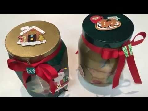 DIY Potes de Vidro com Decoração Natalina ! 4 ? Este Post é baseado no vídeo do Canal Invicta Online publicado no Youtube, em 2016-12-15 11:02:26 ? Vivendo de Brigadeiro