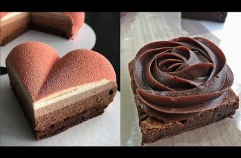 Most Satisfying Chocolate Cakes Video Ever –  Amazing Chocolate Cakes Decorating ideas 2017
