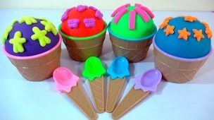 Play-Doh Cupcake Surprise Bowls Peppa Pig Frozen My Little Pony Disney Tsum Masha and The Bear Toys