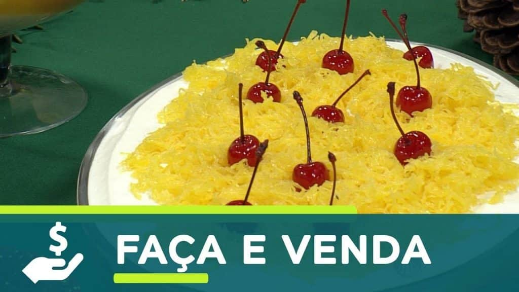 Santa Receita | Torta na travessa de baba de moça por Roberto Augusto - 11 de dezembro de 2017