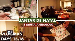 VLOGMAS: DIAS 15-16 | DOCES E FESTA DE NATAL TUGA EM LONDRES  | Ana Martins