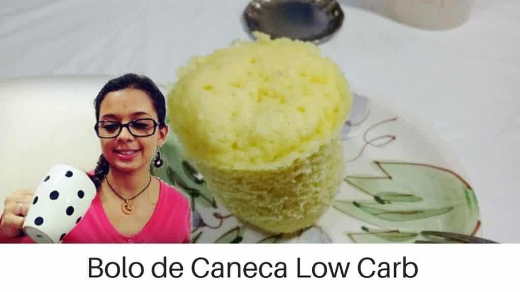 Bolo de Caneca Low Carb l Receitas Low Carb