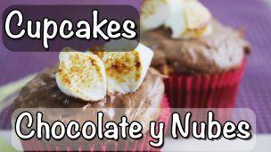 CUPCAKES de CHOCOLATE y NUBES |ItsJudith