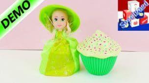 Cupcake prinsessen vergelijken | Schattige prinsessen in muffin | Metamorfose 2in1