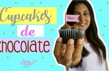 LOS MEJORES CUPCAKES DE CHOCOLATE! – Easy bakings