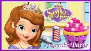 Sofia The First Cupcake Party - Disney Junior Games For Kids