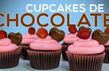 Cupcakes de Chocolate –  Especial San Valentin