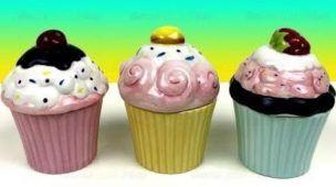 Surprise Toys Cupcake Surprise - Hidden Disney Frozen Surprise Eggs