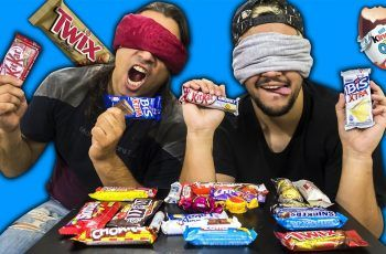 DESAFIO DOS CHOCOLATES !! (TWIX, KIT KAT, M&M, KINDER BUENO, ETC)