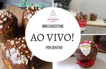 Mini Chocotone Recheado por dentro – Ao vivo