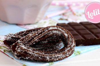 Receta de churros de chocolate caseros – Como hacer churros fáciles con churrera