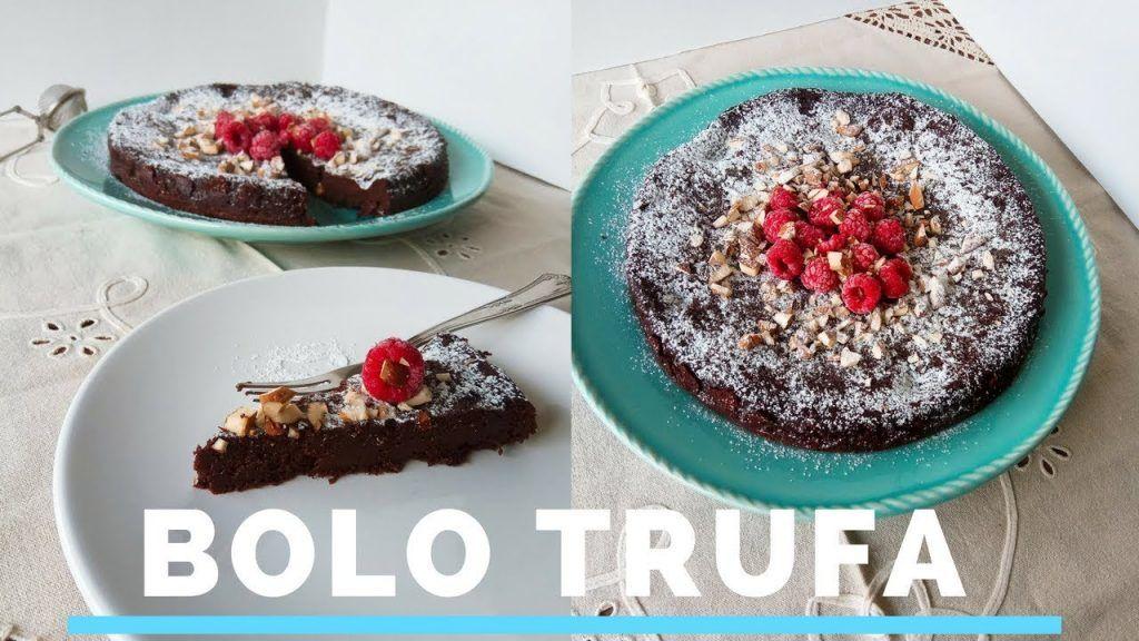 BOLO MOUSSE (TRUFA DE CHOCOLATE) | Receita Sem Gluten 1 Gostaria de saber + destas receitas que foram postadas,  acesse agora Vivendo de Brigadeiro
