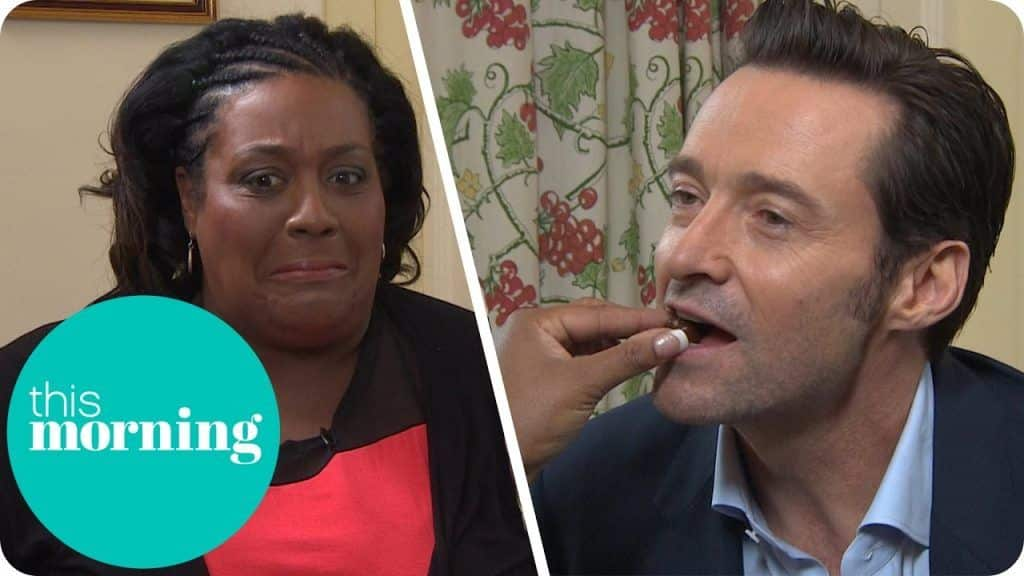 Hugh Jackman é alimentado Chocolates por Alison como ela transforma sua entrevista em uma data! | Esta manhã 1 Quer ver um pouco mais das receitas já disponibilizadas,  saiba mais Vivendo de Brigadeiro