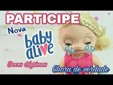 Concurso cultural - Sorteio de Natal Baby Alive Doces Lágrimas