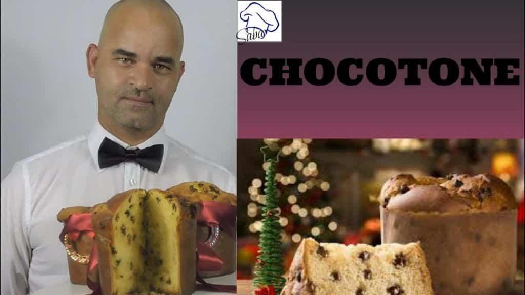 Chocotone - Receita Profissional - Natal - Saba