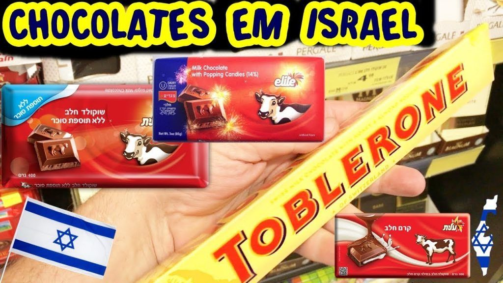 ????Preço de Chocolates de Israel e Curiosidades [Realidade Israelense] 1 Gostaria de ver + das receitas que estão postadas, acesse agora Vivendo de Brigadeiro