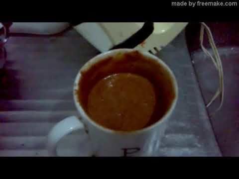 Bolo de Chocolate na caneca, assado no Microondas em 3 minutos e 30 segundos. :p