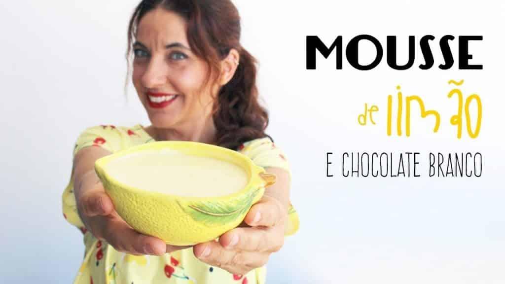 Mousse de Limão e Chocolate Branco- só 4 ingredientes 1 Gostaria de aprender mais das receitas que estão disponibilizadas, vivendo de brigadeiro Vivendo de Brigadeiro
