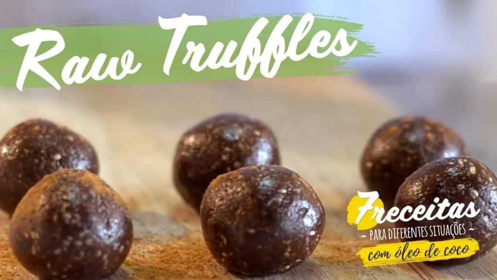 #7 Receita de Trufas Rústicas // Raw Truffles 1 Gostaria de saber um pouco mais destas receitas já disponibilizadas,  saiba mais Vivendo de Brigadeiro