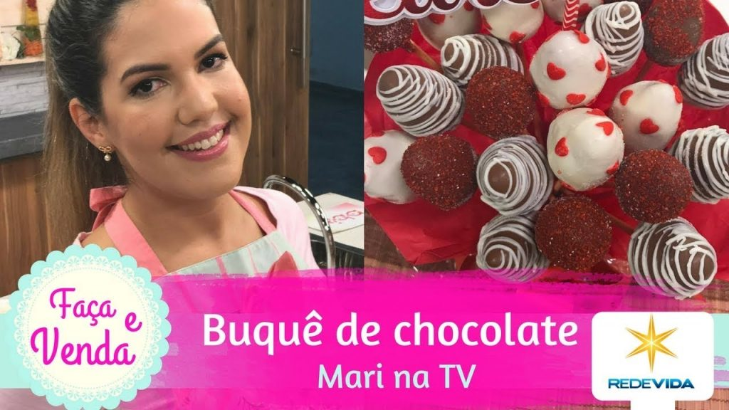 BUQUÊ DE MORANGO COM CHOCOLATE | Mari na TV | Tudo Brigadeiro