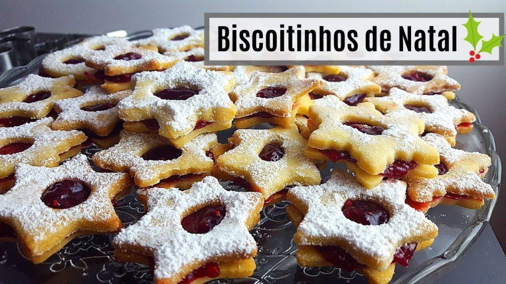RECEITA BISCOITINHOS DE NATAL RECHEADOS | FÁCIL DE FAZER | ROSA FILIPOVIC