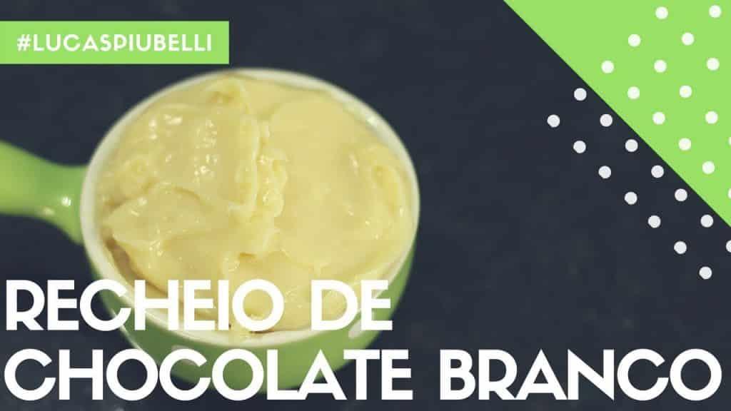 Recheio de Chocolate Branco | Lucas Piubelli 1 Quer assistir um pouco mais destas receitas que foram disponibilizadas,  clique aqui Vivendo de Brigadeiro