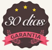 30 dias de garantia - Curso Brigadeiros Gourmet da Marcia Tozo