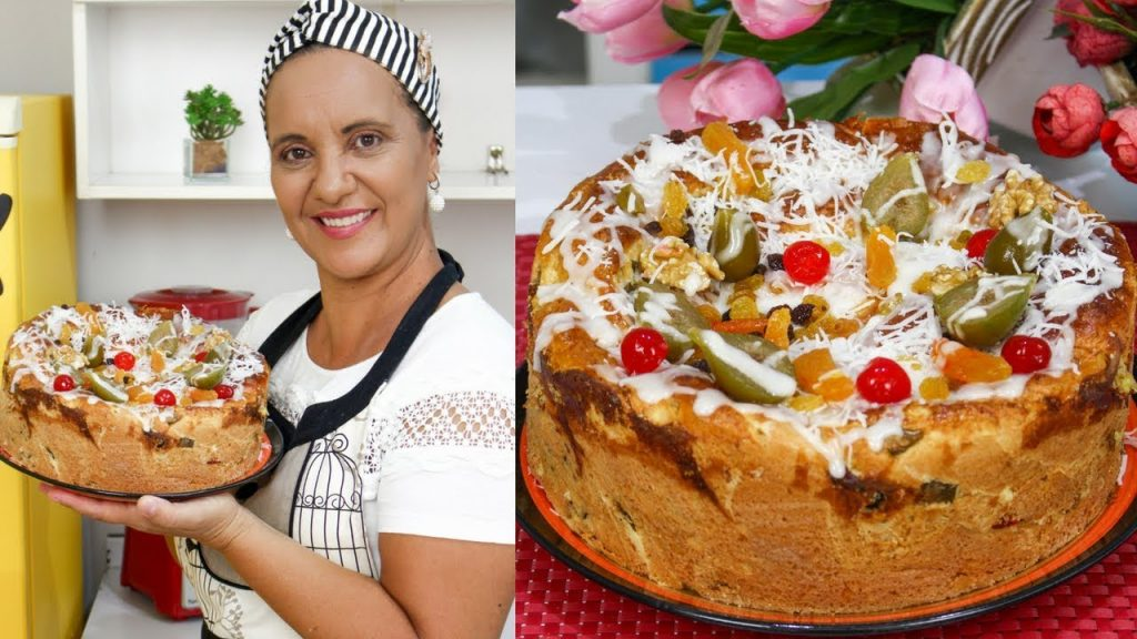 Epecial de Natal - Rosca Natalina SUPER FÁCIL