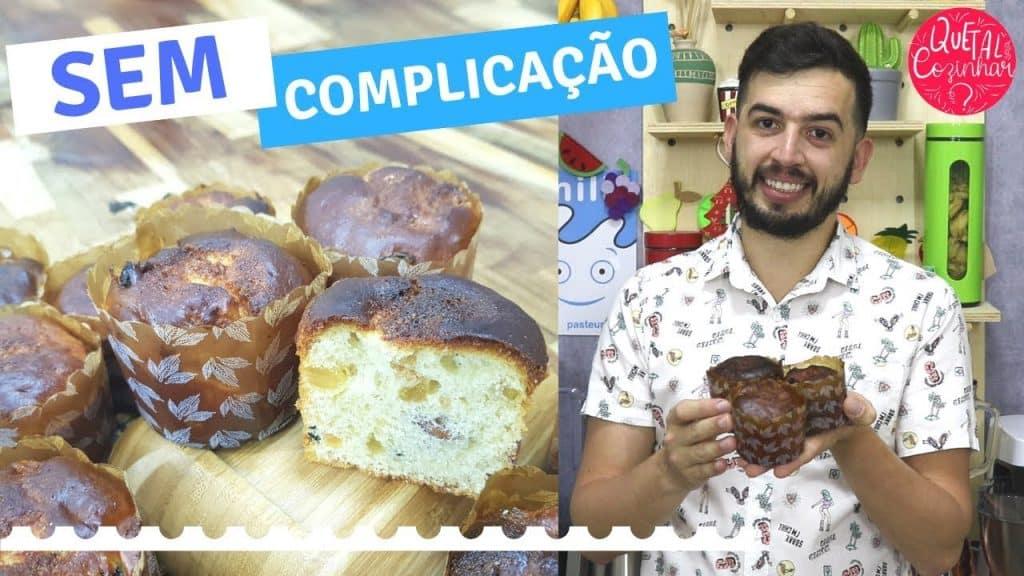 RECEITA DE PANETONE CASEIRO na Airfryer Philips Walita  Fácil de fazer e delicioso