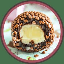 Bombom Brigadeiro - Ensinado no Curso Brigadeiros Gourmet da Marcia Tozo