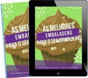 100 receitas de Brigadeiro Gourmet - embalagens