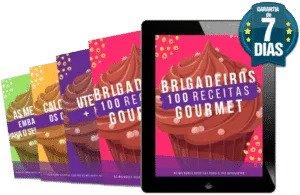 100 receitas de Brigadeiro Gourmet - material completo
