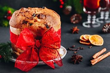 Panetone - tradicional da festividades de Natal, o Panetone pode ser servido o ano inteiro com diversas receitas que irão adicionar muito sabor a ele.