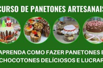 Curso de Panetones Artesanais - Como Ter Renda Extra Com Panetones e Chocotones