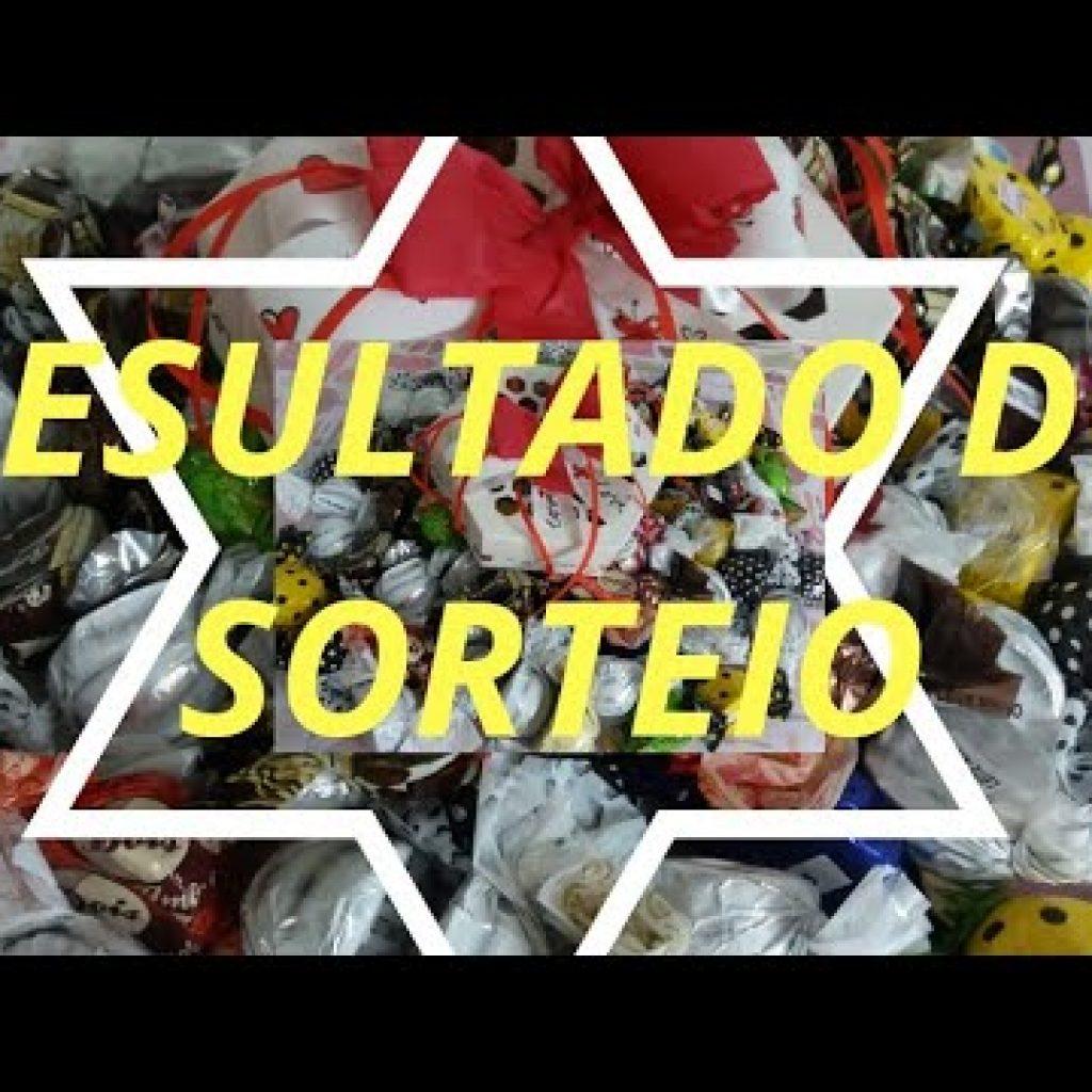 RESULTADO DO SORTEIO DA CAIXA DE TRUFAS 1 Gostaria de assistir um pouco mais destas receitas que estão disponibilizadas,  visite Vivendo de Brigadeiro