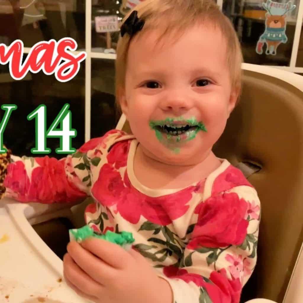 Vlogmas 14 | Gigi and the Great Green Cupcake
