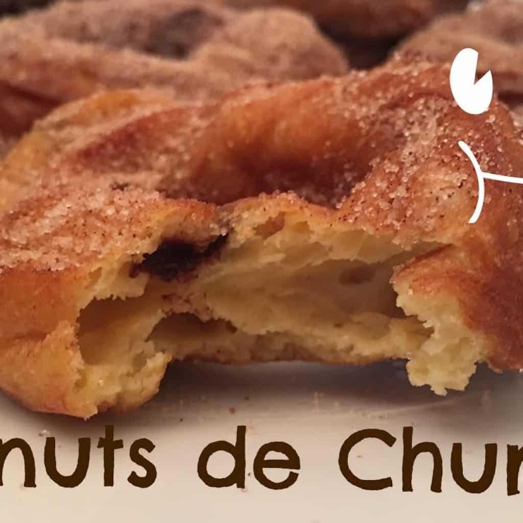 Churros De Donuts - Recetas By Fany