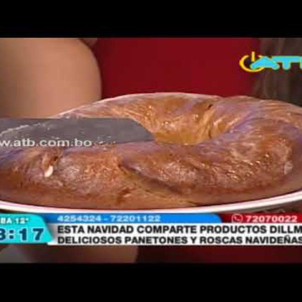La empresa Dillman ofrece panetones y roscas navideñas