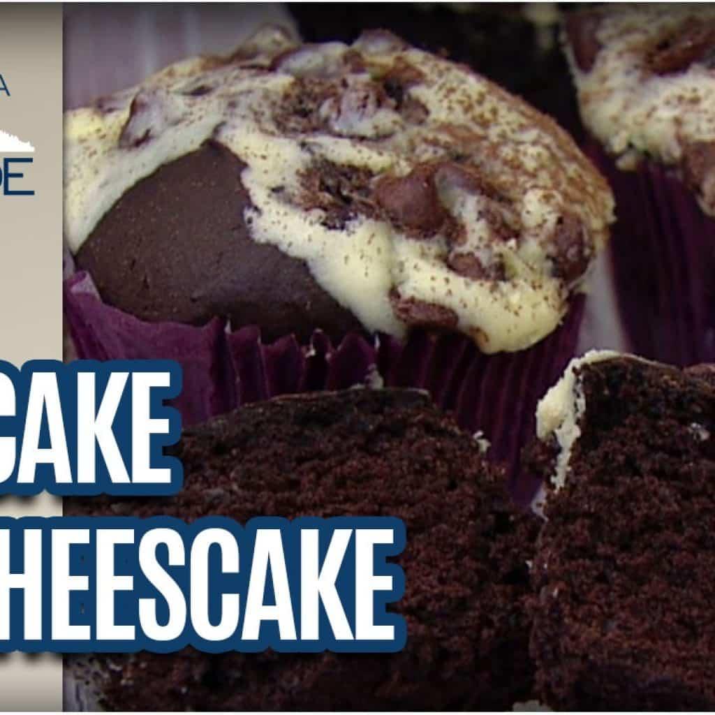 Receita de Cupcake de Chocolate de Cheescake - Revista da Cidade (10/02/2017)