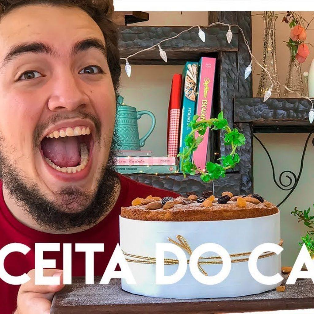Bolo Panetone Molhadinho | Bolotone | Receita de Natal